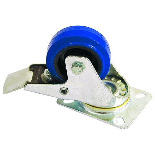 Otočné kolečko Accessory Otočná kolečka Blue Wheel s brzdou, 80 mm