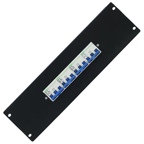 Rozdělovačový modul Eurolite 3 póly, černý