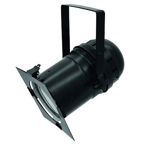 Reflektor Eurolite Eurolite LED PAR-56 COB 5600K 100W, reflektor černý