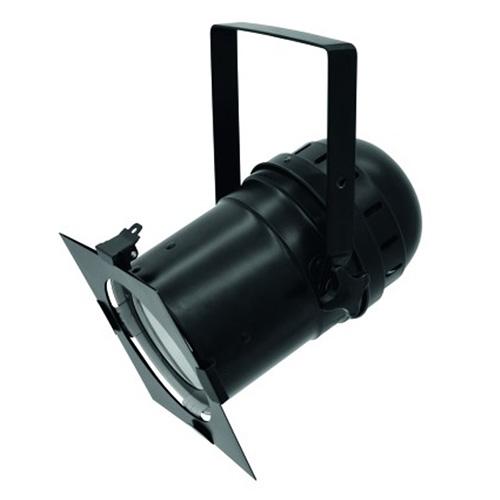 LED reflektor Eurolite PAR-56, COB RGB 100W, černý
