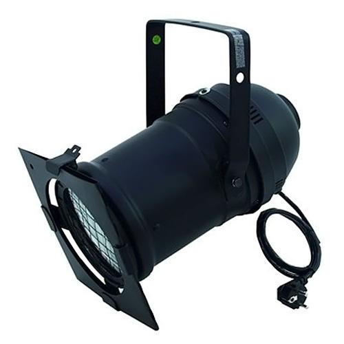 Reflektor Eurolite PAR 56 CDM černý, dlouhý
