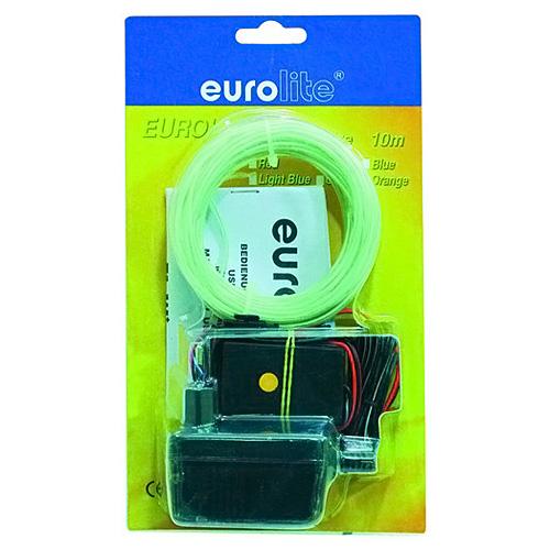 Světelný efekt Eurolite Eurolite neonový provázek 10m, 2mm, světle modrý