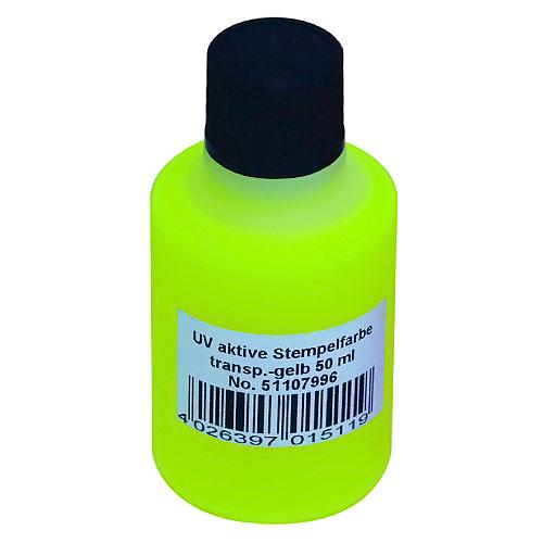 Fotografie Razítkovací barva Eurolite UV razítkovací barva 50ml, žlutá