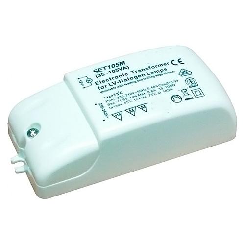 Transformátor Eurolite Transformátor 12V / 35-105VA pro halogenové žárovky
