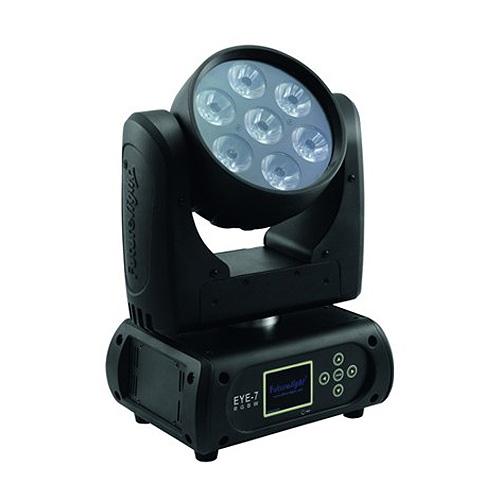 Otočná hlavice Futurelight Futurelight EYE-7 RGBW, otočná LED hlavice