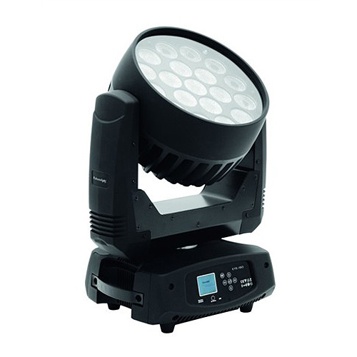 Otočná LED Wash hlavice Futurelight Futurelight EYE-190 Zoom, otočná LED Wash hlavice