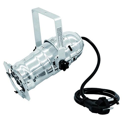 Reflektor Eurolite Eurolite LED PAR-16 spot stříbrný, 3x3W LED, 8500K