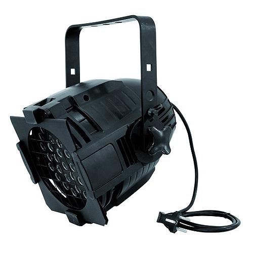Reflektor Eurolite Eurolite LED ML-56 RGBA černý, 36x 3W LED