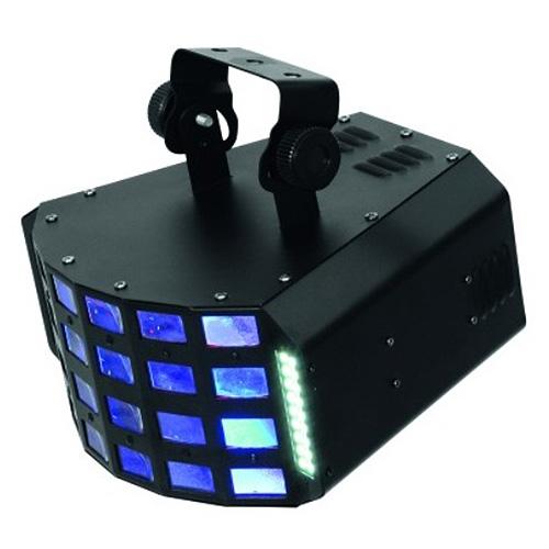 Světelný efekt Eurolite Černý, LED
