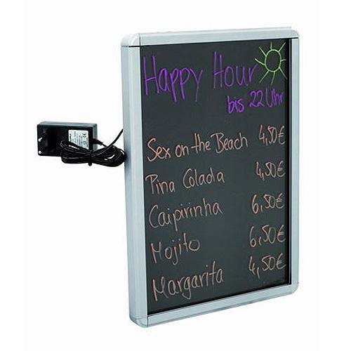 Reklamní tabule Europalms LED světelná tabule A1, hliníková