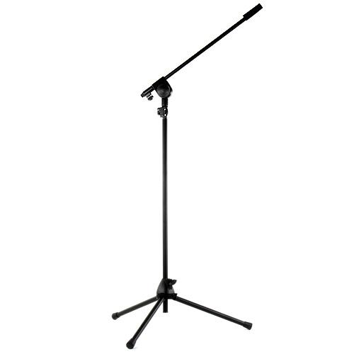 Mikrofonní stativ Omnitronic černý, max. výška 190cm
