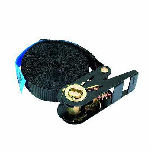 Vázací pás Omnitronic Pás vázací S400 se západkou, 5m, 25mm, černý