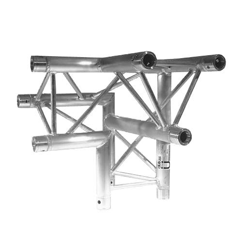 Stavební konstrukce Alutruss Trilock 6082AL-31, 3-koncový rohový díl pravý