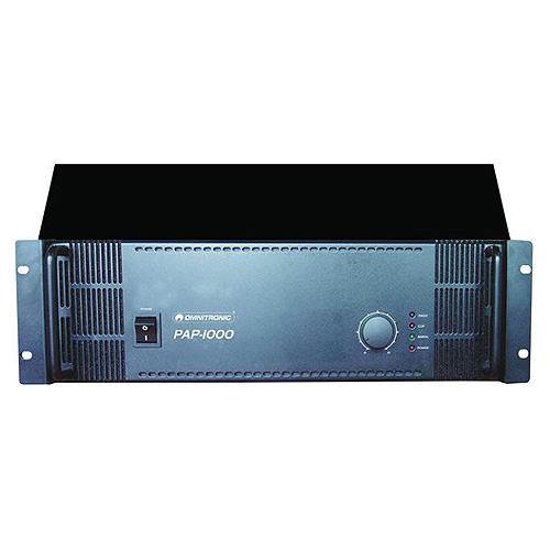 Zesilovač Omnitronic Omnitronic PAP-1000