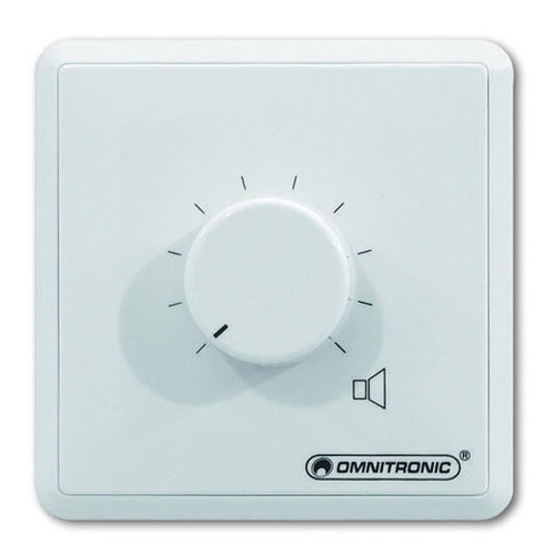 Regulátor Omnitronic Omnitronic ELA LS - regulátor stereo 5W - bílý
