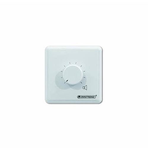 Regulátor hlasitosti Omnitronic bílý