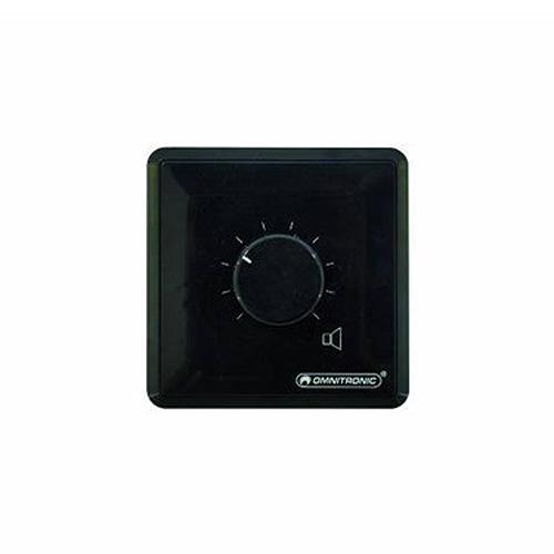 Regulátor hlasitosti Omnitronic černý