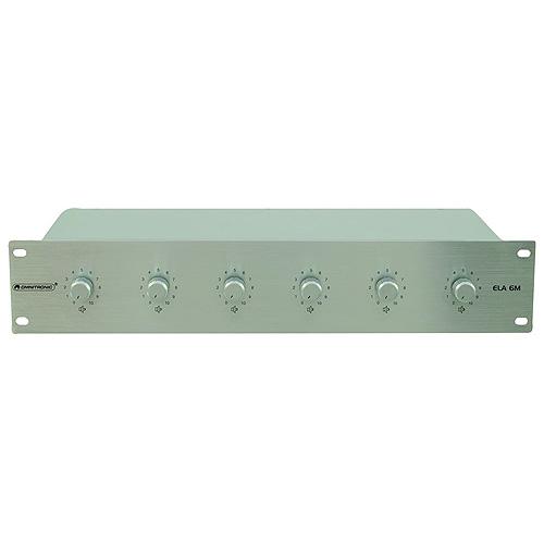Regulátor hlasitosti Omnitronic stříbrný, 5W