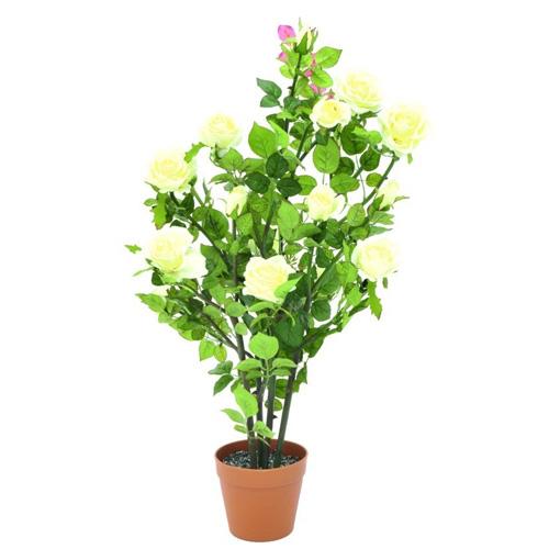 Růžový keř Europalms Růžový keř, krémová, 86 cm