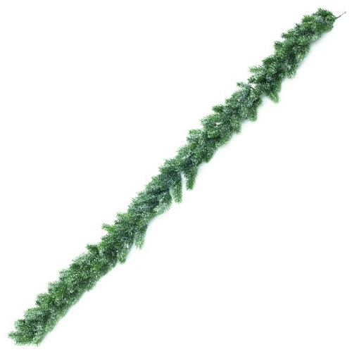 Jedlová girlanda Europalms délka 180cm, zasněžená