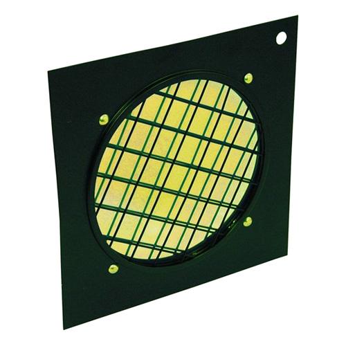 Dichrofiltr Eurolite Dichrofiltr PAR 64 žlutý, černý rámeček
