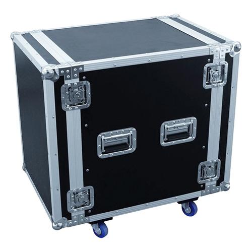 Racková skříň Roadinger Rack pro zesilovač PR-2ST, 14HE s kolečky
