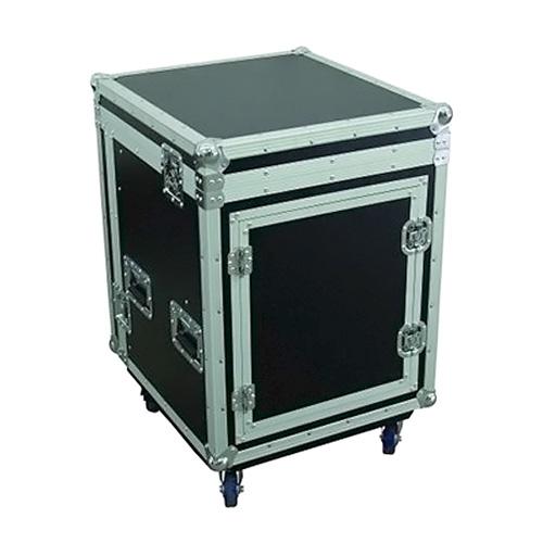 Racková skříň Roadinger Special combo case Pro 10HE s kolečky