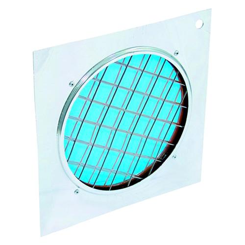 Dichrofiltr Eurolite Dichrofiltr PAR-56 modrý, stříbrný rámeček