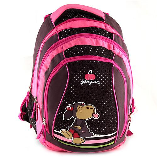 Školní batoh 2v1 Nici ovečka vyplazující jazyk