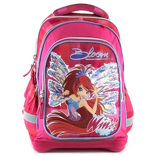 Školní batoh Winx Club víla Bloom