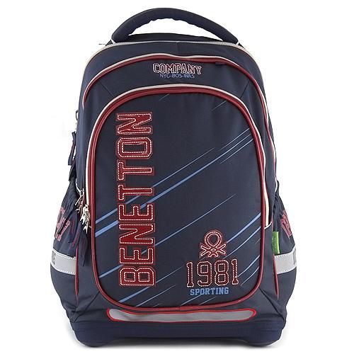 Školní batoh Benetton modrý