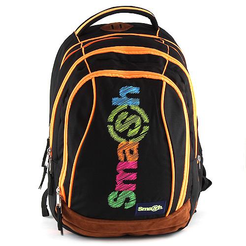 Školní batoh Smash 2v1 černý 2dbf546256