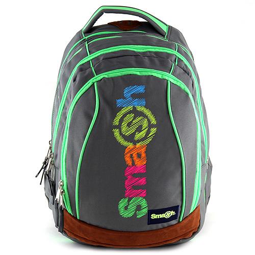 Školní batoh Smash 2v1 šedý f2d59c0c17