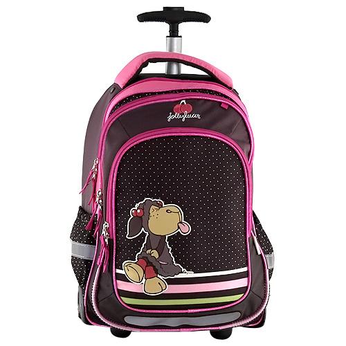 Školní batoh trolley Nici ovečka vyplazující jazyk