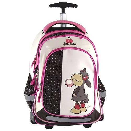 Školní batoh trolley Nici ovečka s bublinou