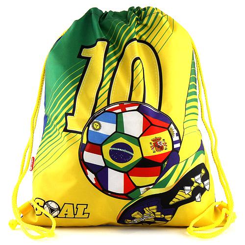 Sportovní vak Goal zeleno-žlutý