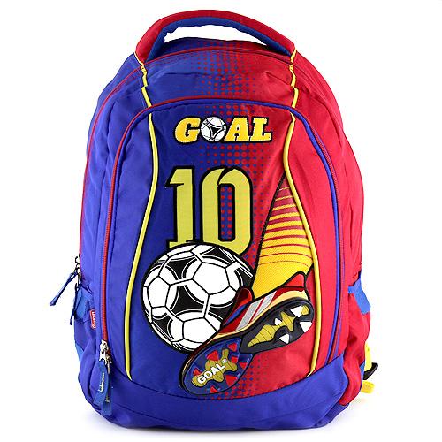 Batoh Goal modro-červený