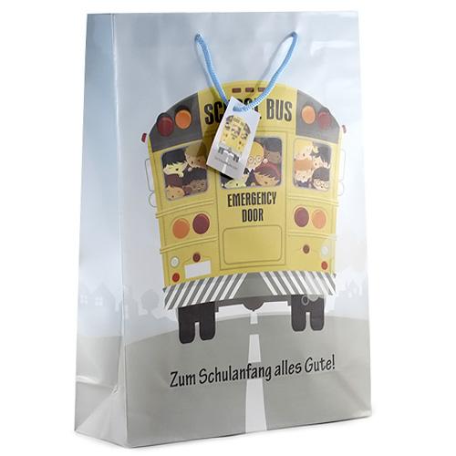 Dárková taška Idena 25x9x35cm, motiv autobusu