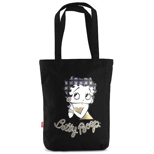 Nákupní taška Betty Boop černá