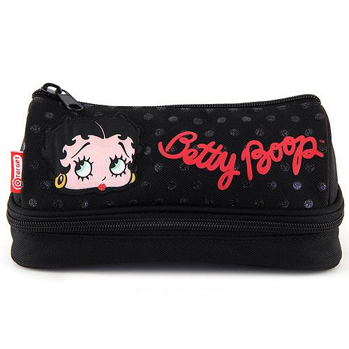 Školní penál Betty Boop dvoukomorový