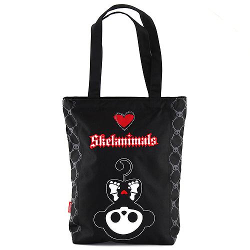 Nákupní taška Skelanimals černá