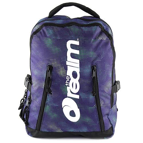 Studentský batoh The Realm modro/zelený