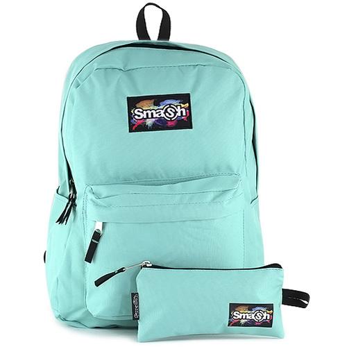 Studentský batoh Smash tyrkysový zelený