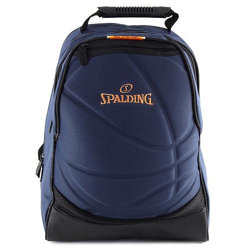 Studentský batoh Spalding tmavě modrý, rozměry 43x30x20cm