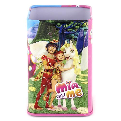Stojánek na tužky Mia and Me růžovo/modrý