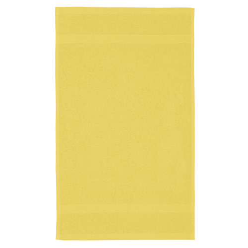 Ručník Aqua-Soft žlutý, rozměr 30x50cm