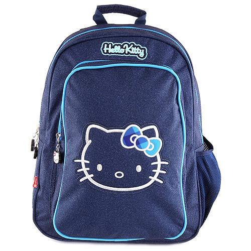 Školní batoh Hello Kitty tmavě modrý s motivem Hello Kitty