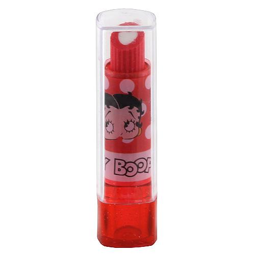 Guma rtěnka Betty Boop červená s motivem panenky Betty Boop