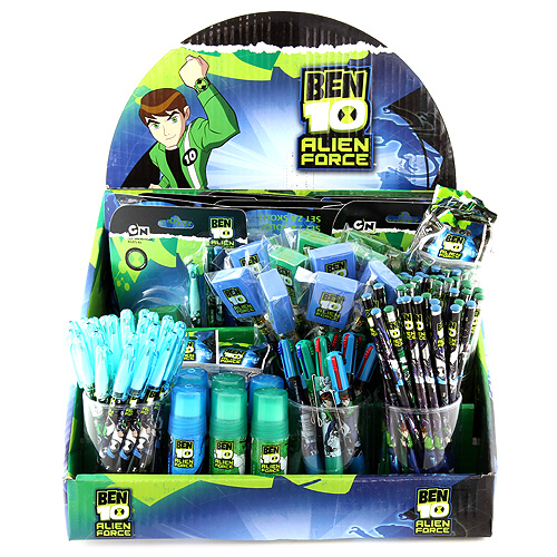 Stojánek s náplní Ben 10 STATIONERY DISPLAY (FULL) BEN 10