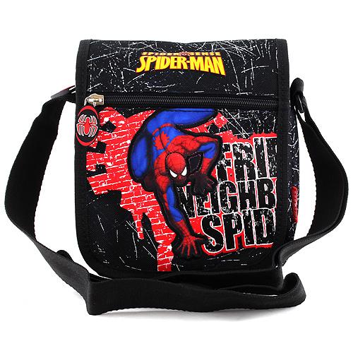 Taška do města Spiderman červeno/černá, s motivem Spidermana